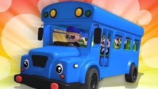 roues dans le bus | bus chanson | français comptines | Wheels On The Bus | Baby Bao Panda Française