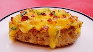 Twice Baked Potatoes: Recipe: How To Make Loaded Potatoes: Diane Kometa - Dishin With Di  # 157