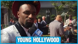 Jarvis Landry Catches Up With Odell Beckham Jr & More at the ESPYs!