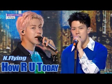 [HOT] N.Flying - HOW R U TODAY, 엔플라잉 - HOW R U TODAY  Show Music core 20180616