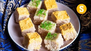 1,000 pieces of Indian Burfi - For a wedding! #CelebrateWithSORTED #Ad