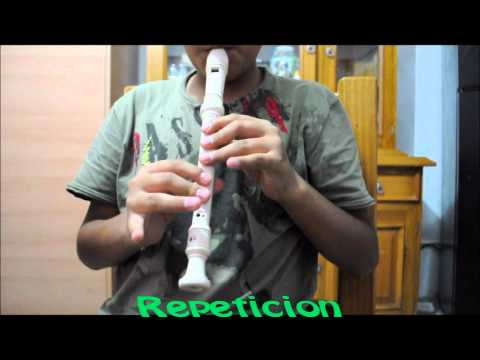 Llorando se fue - Con flauta