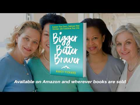 New Bestseller: Bigger Better Braver by Nancy Pickard