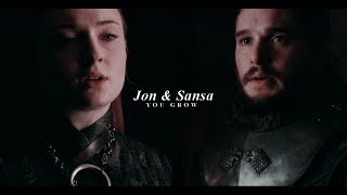 Jon & Sansa || You Grow [+8x01]