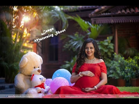 Lasya Manjunath Maternity photo shoot