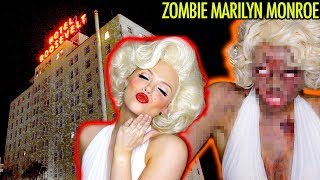 HAUNTED HOTEL: I Did My Halloween Makeup at The Hollywood Roosevelt