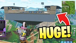 THIS PORT-A-FORTRESS IS MASSIVE! - Best Fortnite Moments #34
