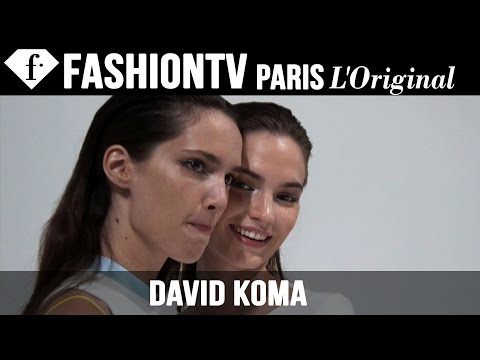 David Koma Hair & Makeup | London Fashion Week Spring/Summer 2015 | FashionTV