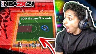 MY BIG BROTHER ENDED MY 100 GAME STREAK😡 SOMEONE GOT KNOCKED OUT 😂 NBA 2K21