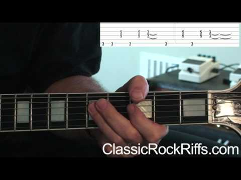 ZZ Top : TUSH : Intro guitar lesson + TAB