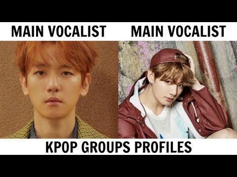 KPOP GROUPS PROFILES | BTS & EXO