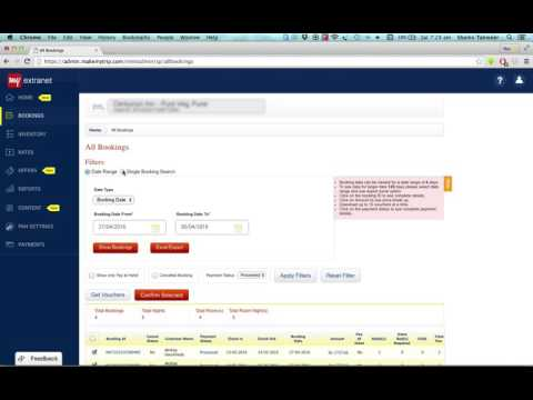 Learn How to Manage Bookings on MakeMyTrip Extranet (in Hindi)