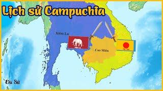 Tóm tắt lịch sử đất nước Campuchia - Đế chế Khmer - Dã Sử Truyện