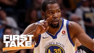 First Take debates whether Warriors need Kevin Durant to win championship | First Take | ESPN