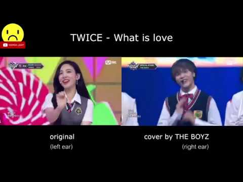 TWICE - What is love (Original & THE BOYZ Comparison)