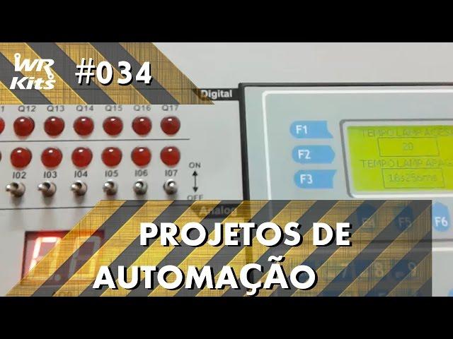 CONTROLE DE LUZ DE CORREDOR COM CLP ALTUS DUO | Projetos de Automação #034