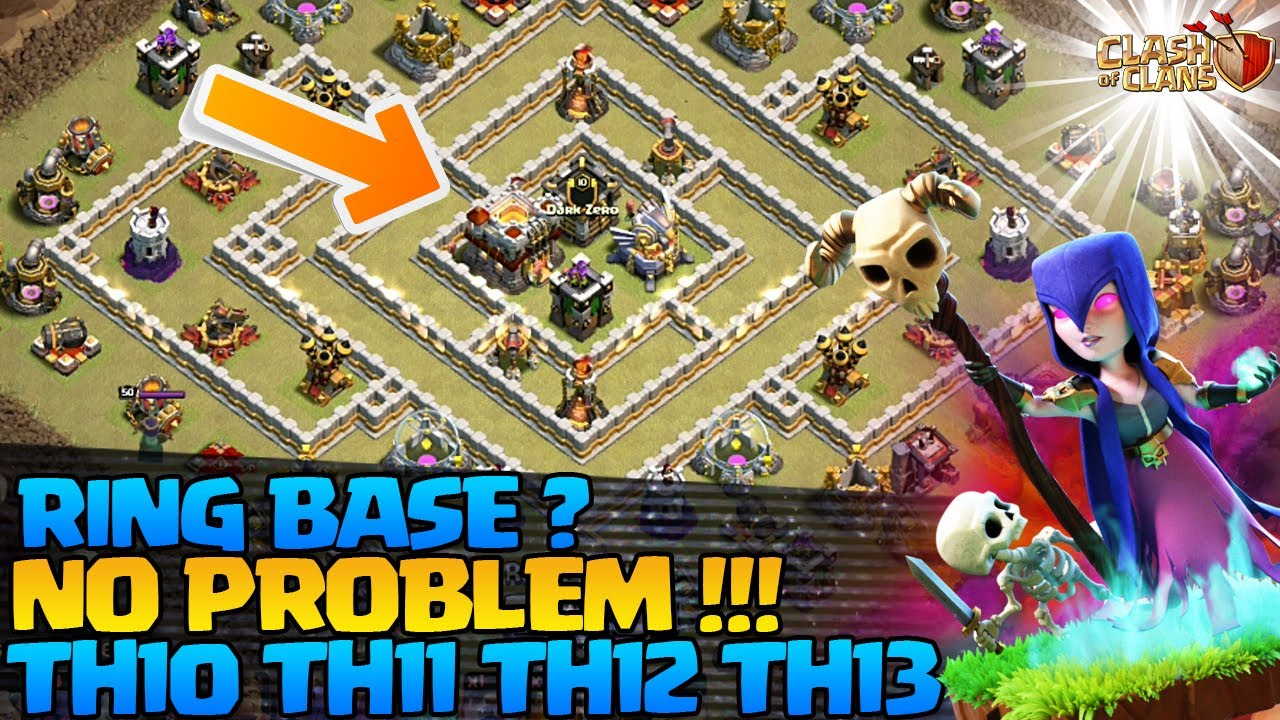 HOW TO 3 STAR Th11 Ring Base - 3 Star Th10 Ring Base - 3 Star Th12 Ring Base - Th13 Ring Base in Coc