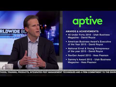 Aptive founder and CEO interviewed on Kathy Ireland Worldwide Business