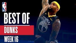 NBA's Best Dunks   Week 16