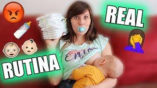 RUTINA REAL con DOS BEBÉS + NOS ENFADAMOS CON GAEL ∞ Vlog Happy Ohana