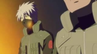 Kakashi meets his father (aka white fang)