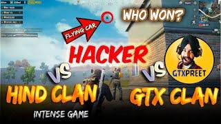#SOLDIER GAMING #GTXPREET #HIND CLAN VS HACKER + #GTX CLAN ( MJA AGYA BHAI) #SHARE    [HIND OP]