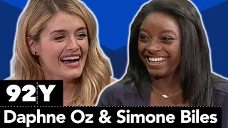 2016 Olympic Gold Medalist Simone Biles in Conversation with Daphne Oz