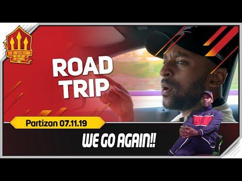 Manchester United vs Partizan Road Trip!