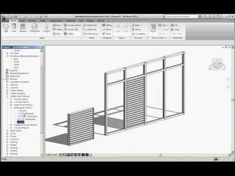 Curtain Wall Louvers Youtube