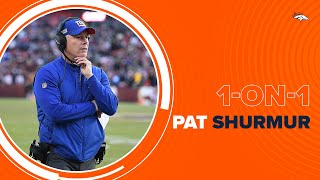 Offensive Coordinator Pat Shurmur excited to join Broncos, coach Drew Lock