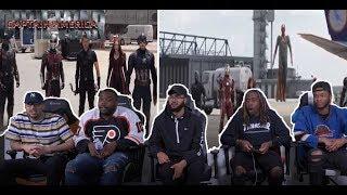 Captain America Civil War-Airport battle  Pt.1 REACTION