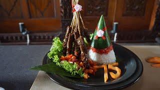 Yummyy...Bikin Nasi Merah Putih dan Sate Merdeka, Kuliner Khas Kemerdekaan