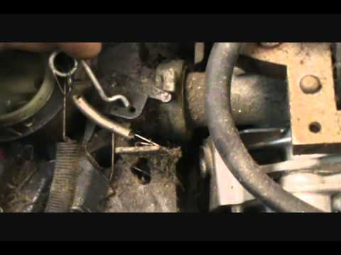 Briggs Amp Stratton Mower Over Reving Youtube