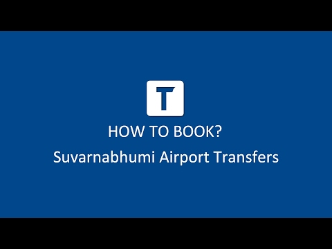How Can I Book Suvarnabhumi Airport Transfers