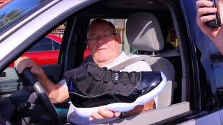 Non-Sneakerheads Review the Air Jordan 11 Space Jams!