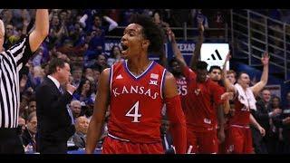 Texas vs Kansas || Full Game Highlights || 2017 2018 College Basketball Season