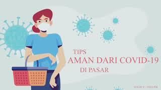 Tips Aman Dari Covid19 di Pasar