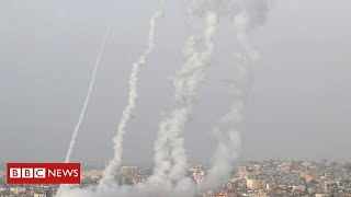 Jerusalem violence: Deadly air strikes hit Gaza after rocket attacks - BBC News