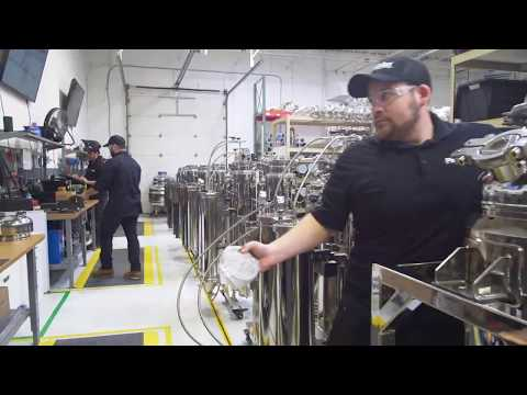 Precision Extraction Solutions Assembly Line in Metro Detroit.