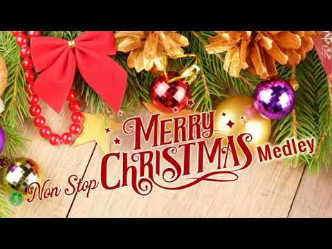 Non Stop Christmas Songs Medley ll Christmas Songs of All Times