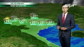 VTC14 | Thời tiết 6h 11/10/2017 | Mưa dông vẫn là thời tiết chủ đạo tại Trung Trung Bộ