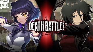 Blake vs Mikasa | DEATH BATTLE! sub español (RWBY vs Attack on Titan)