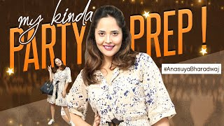 Jabardasth anchor Anasuya shares how to get ready for a pa..