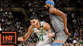 Oklahoma City Thunder vs Boston Celtics 1st Half Highlights / March 20 / 2017-18 NBA Season
