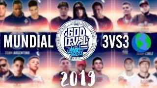 Los 8 EQUIPOS CLASIFICADOS al MUNDIAL DE FREESTYLE - GOD LEVEL FEST 2019   ¡INCREÍBLE!