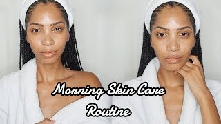 MORNING SKIN CARE ROUTINE || HOW I TRANSFORMED MY ACNE PRONE SKIN IN 4 MONTHS!