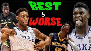 The Best & Worst Case Scenario For These 2019 NBA Draft Prospects