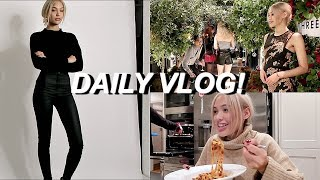 DAILY VLOG: Come to My Agency With Me, Cooking & Events!