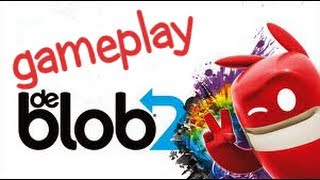 de Blob 2 (PS3 Move) Gameplay