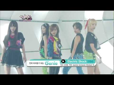 120615 F(x) - Electric Shock (Comeback Stage)